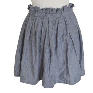 Staring at Stars Dresses & Skirts - Blue Chambray Skirt $59