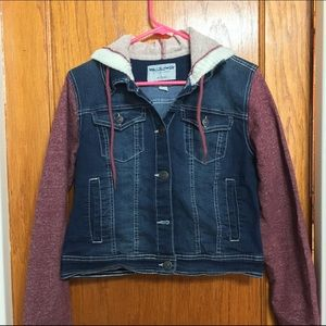 Wallflower Other - Jean jacket sweater combo.