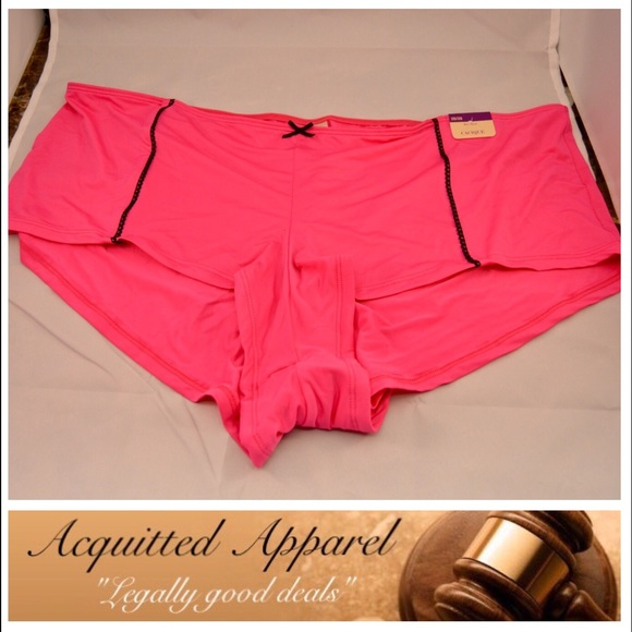 b21cda29bd1d Cacique Intimates & Sleepwear | New Hot Pink Boy Shorts Size 2628 ...