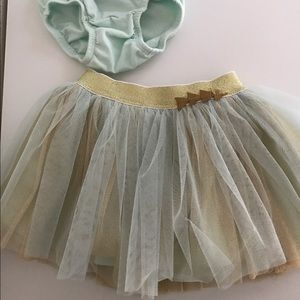Rosie Pope Other - Rosie Pope baby tutu with diaper cover