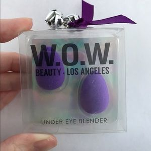 Other - Mini Beauty Under Eye Blender Purple Makeup Sponge
