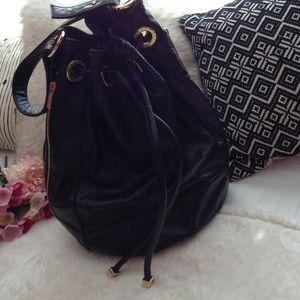 ARMANI EXCHANGE Handbags - ARMANI EXCHANGE BLACK HOBO BAG