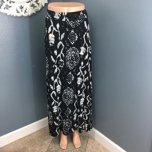 INC International Concepts Dresses & Skirts - Black and white maxi skirt INC