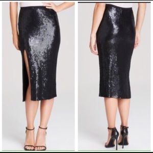 Chan Luu Dresses & Skirts - Chan Luu NWT black sequin midi pencil skirt sz SM