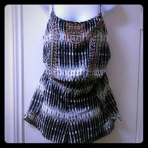New Jessica SImpson Noa Tribal  romper/jumpsuit
