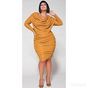 Monif C. Dresses & Skirts - 🎉Host Pick🎉Monif C gold Alexandra dress size 1X