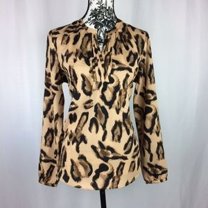 Milano Tops - Milano • Leopard Print Blouse