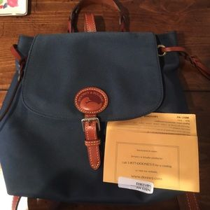 Authentic dooney and bourke backpack
