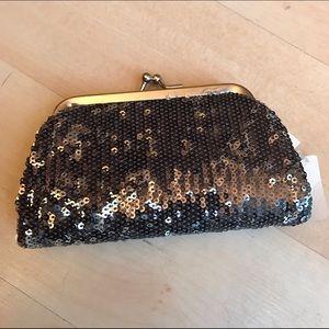 Brand new sparkly change purse/clutch