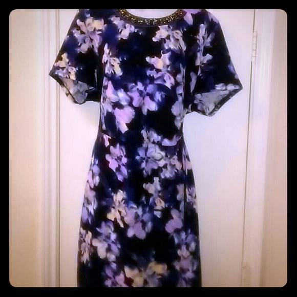 Jessica Simpson Dresses - New Jessica Simpson Ciara floral watercolor Dress
