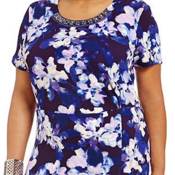 Jessica Simpson Dresses - New Jessica Simpson Ciara floral watercolor Dress