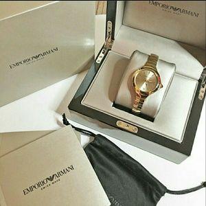 emporio Armani  Accessories - NWT $955 emporio Armani Automatic watch
