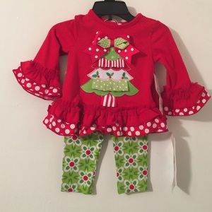 Rare Editions Other - Girls Christmas Outfit