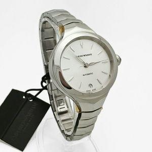 emporio Armani  Accessories - NWT $900 Emporio Armani Automatic lady watch