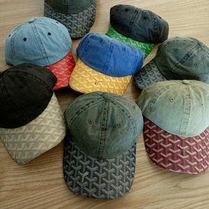 Goyard Other - RARE Custom Goyard Print Dad Hat