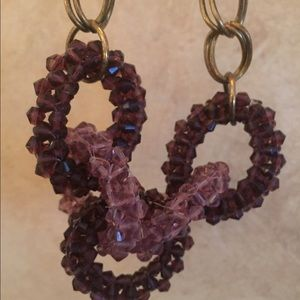 Anthropologie Necklace. Purple and Gold. Gorgeous.