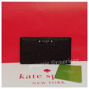 kate spade Handbags - New Kate Spade glitter bifold Stacy wallet