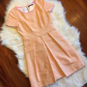 Tahari Dresses & Skirts - Tahari Klarissa Tweed Dress in Crushed Coral
