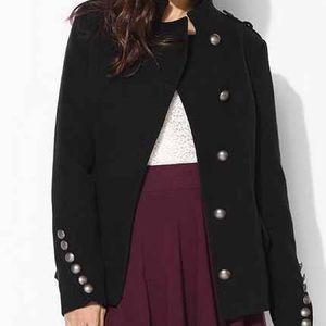 Urban Outfitters Jackets & Blazers - BB Dakota Military style black pea coat