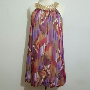 AUW As U Wish Abstract Dress