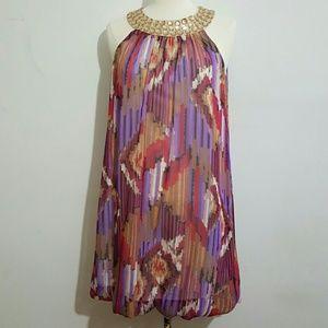 As U Wish Dresses & Skirts - AUW As U Wish Abstract Dress