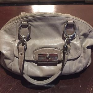 Coach Kristin Leather Domed Satchel