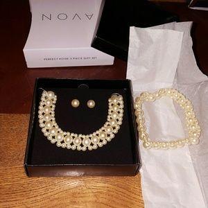 🎁❤🆕️ Avon Perfect Poise 3 piece Gift Set