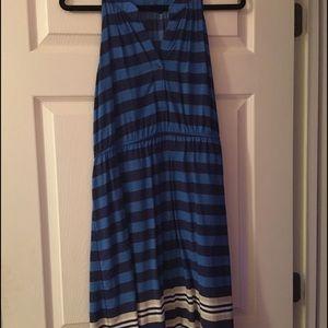 Old Navy Striped Razorback Dress