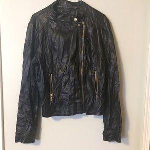 Black Rivet Jackets & Blazers - 🖤FAUX LEATHER JACKET 🖤