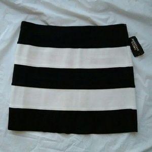 Forever 21 Dresses & Skirts - Forever 21 Striped Bodycon Skirt NWT