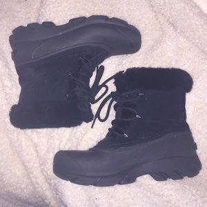Sorel Shoes - Sorel black snow shoes