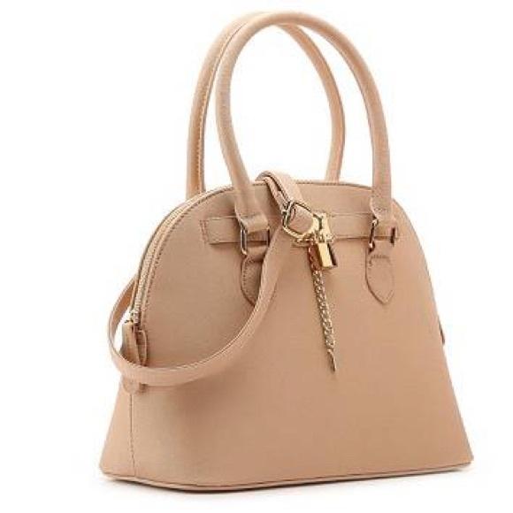 Aldo Handbags - ✨Aldo lock and key peach pink dome purse satchel 13362379f90