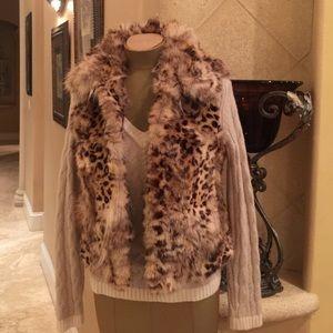 Adrienne Landau Jackets & Blazers - Andienne Landau Coyote Fur Vest size S