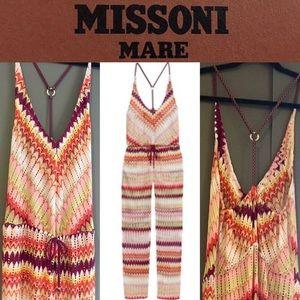 Missoni Other - ❤NWT MISSONI MARE Multicolor Crochet-Knit Jumpsuit