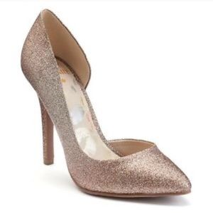 Juicy Couture Shoes - Juicy Couture Glitter Heels