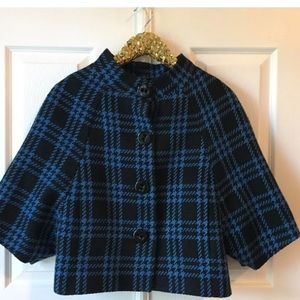 XS The limited Jacket Poncho Tweed Lined NWOT