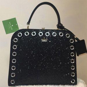 Kate spade large glitter purse
