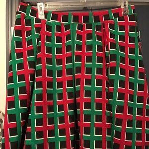 LuLaRoe Madison skirt - 2X