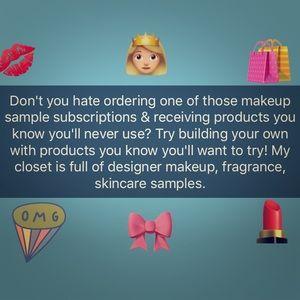 Kat Von D Other - Bundle designer Makeup Skincare &Fragrance samples