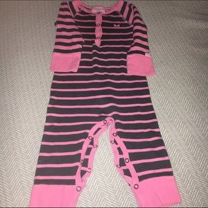 Coccoli Other - Coccoli Infant Girl Striped Unionsuit - 12 mos.