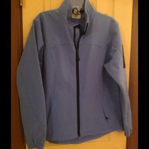 Black Diamond Jackets & Blazers - Periwinkle blue Black Diamond Large fleece lined