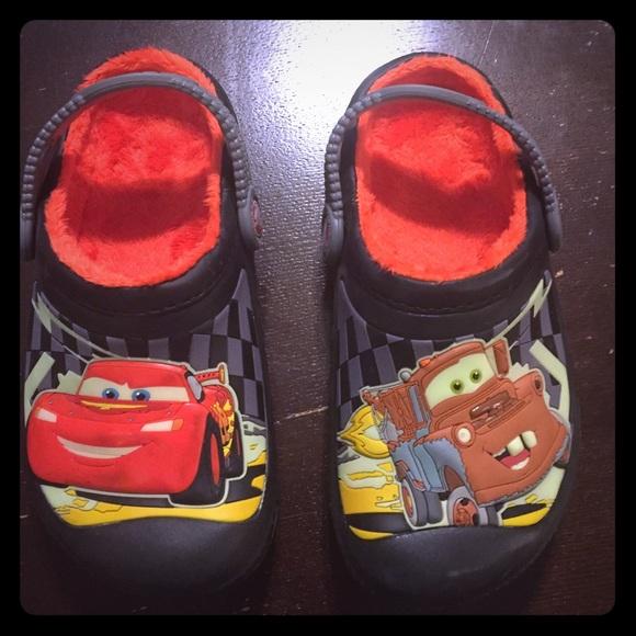 d3dca5b8e CROCS Other - Boys Cars Crocs Mater   Lightning McQueen