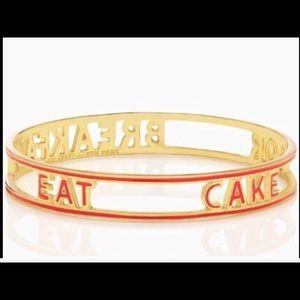 NWT Kate Spade Bracelet EAT CAKE FOR BREAKFAST