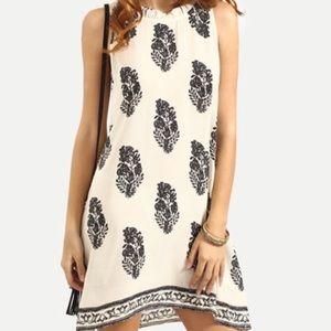2X HOST PICK Sleeveless Print Dress