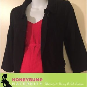 Motherhood Maternity Jackets & Blazers - Spring maternity coat size medium