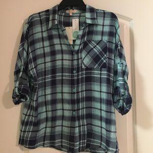 Plaid Shirt/Blouse
