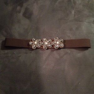 Accessories - Stretchy Brown Belt