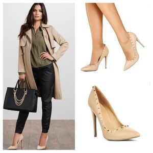 Just Fab Shoes - 🆕 Ivette Classic Nude Stiletto