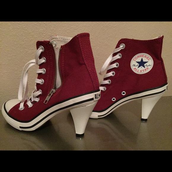 a53e2a8b9d07 Converse Shoes - Japanese Converse AllStar Chuck Taylor Heel Size 6