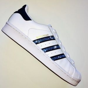 le adidas superstar gioielli swarovski w poshmark blu